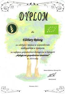 Bester Biobetrieb Großpolen 2014
